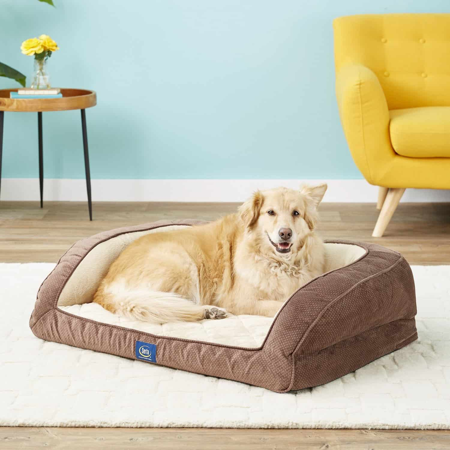Serta Quilted Dog Beds