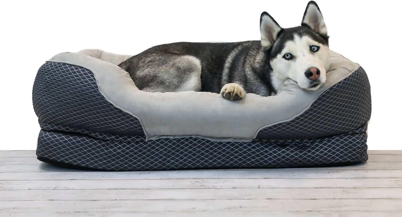 BarksBar Snuggly Sleeper Orthopedic Bed
