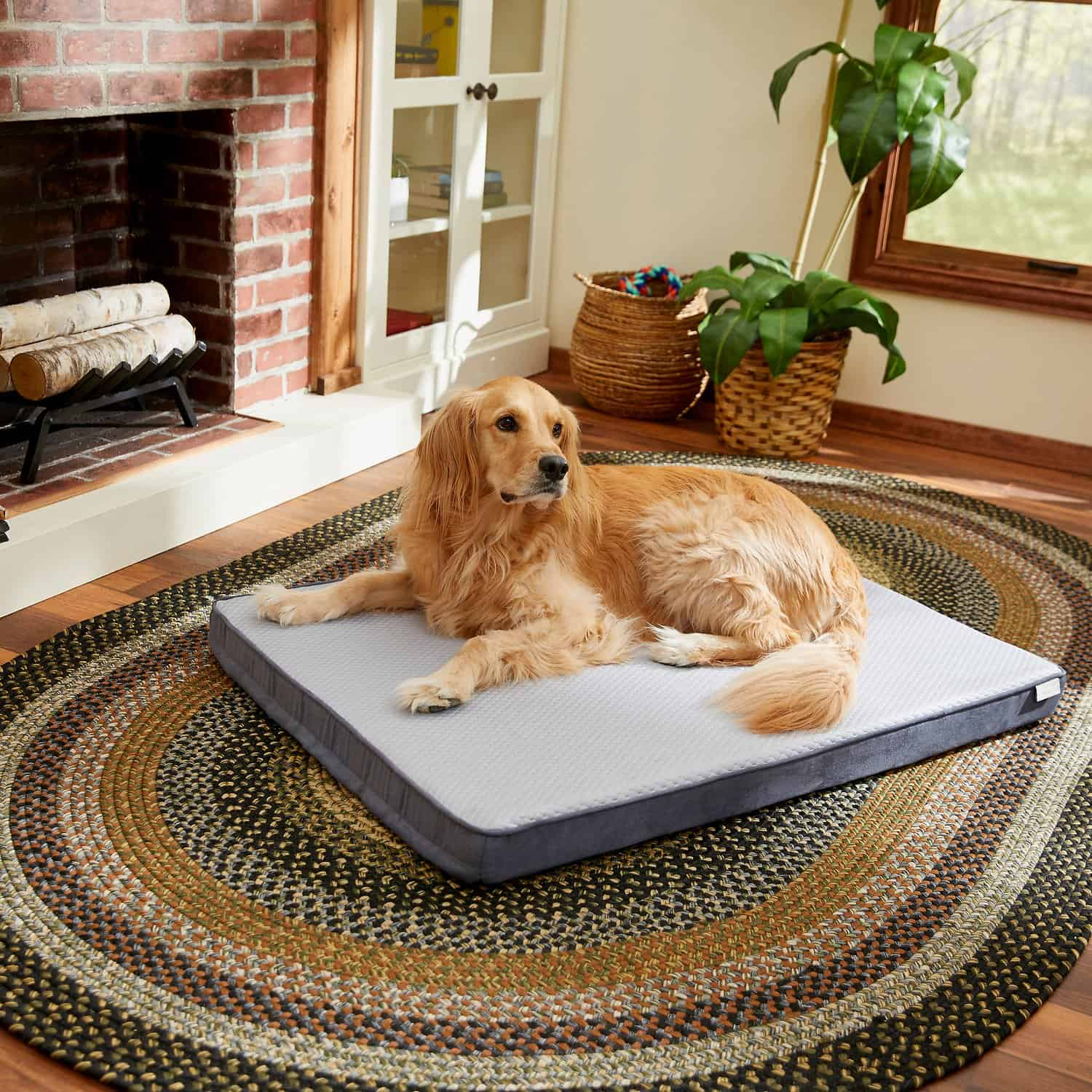 Frisco Cooling Orthopedic Pillow Bed