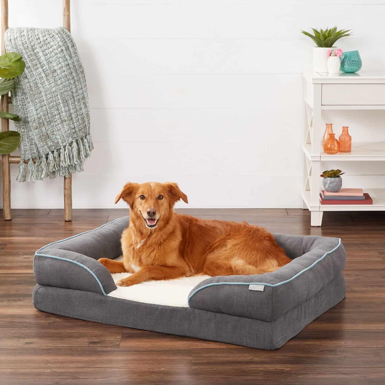 Frisco Plush Orthopedic Dog Bed