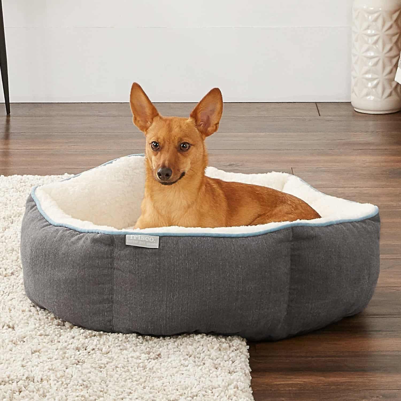 Frisco Sherpa Dog Bed