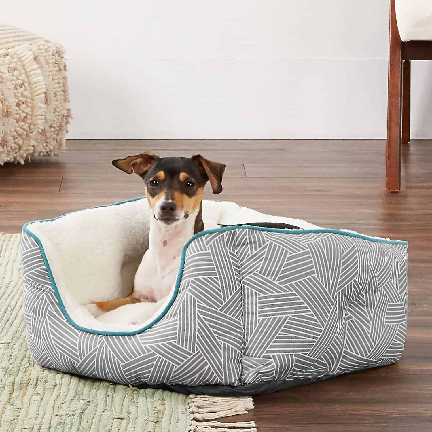 Frisco Square Deep Bolster Bed