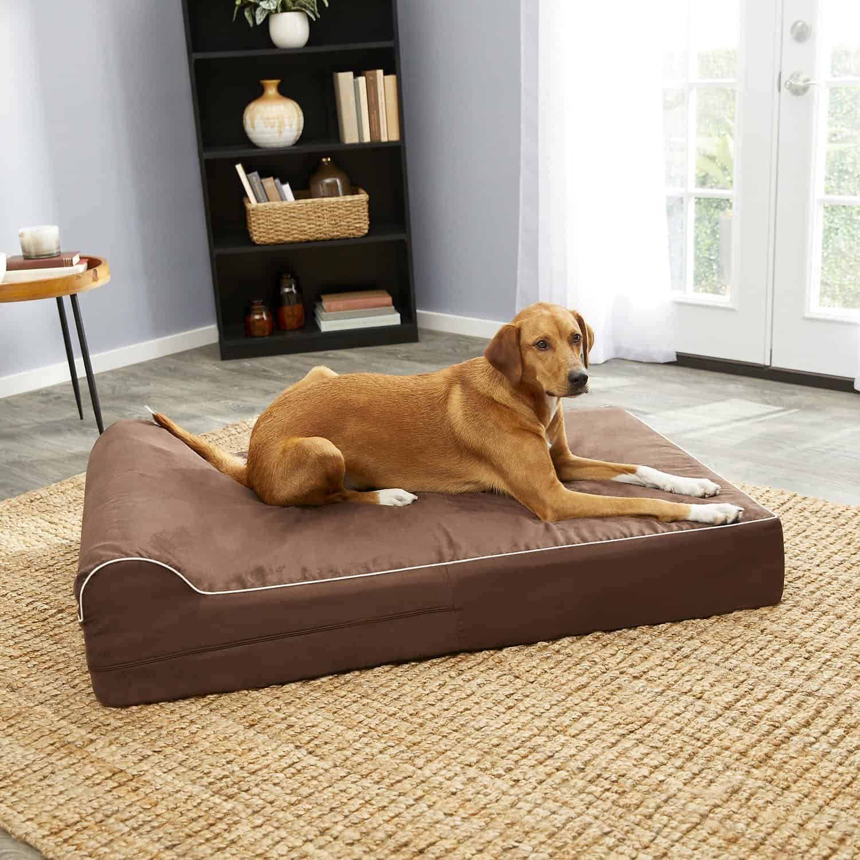 KOPEKS Orthopedic Pillow Dog Bed